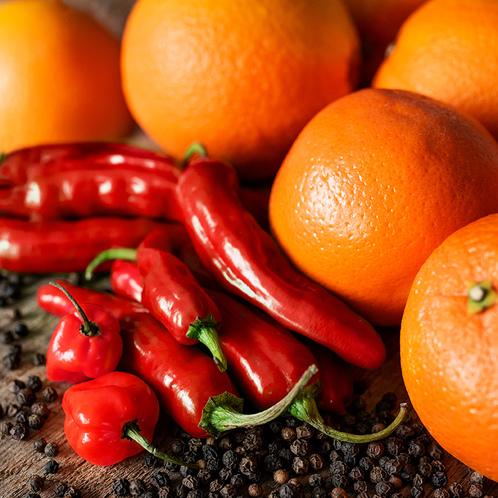 Sweet Orange and Sriracha