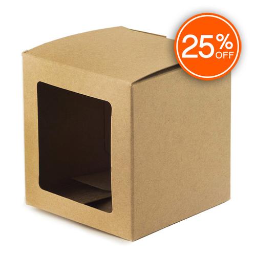 Kraft Straight Sided Tumbler Box (Discontinued Version)
