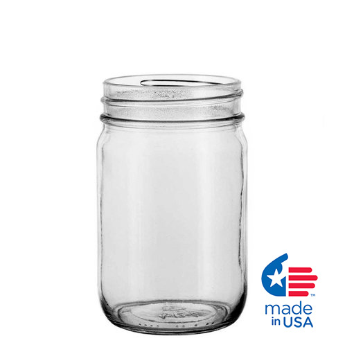 12 oz. Glass Canning Jar