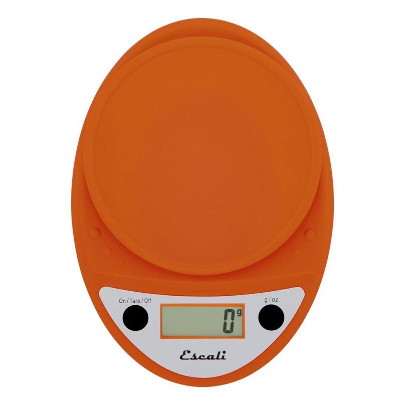 Orange Digital Scale