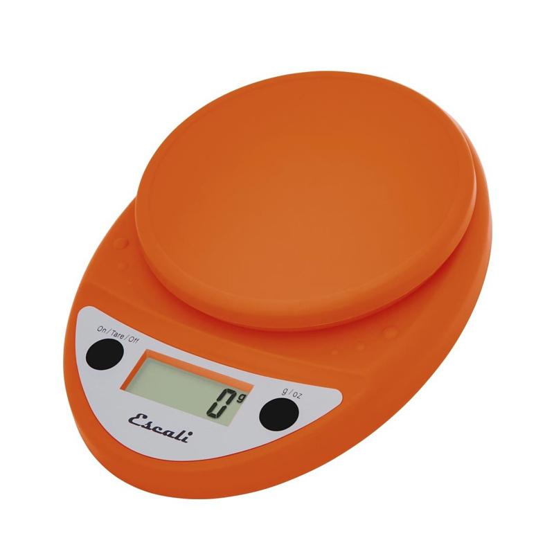 Orange digital scale profile
