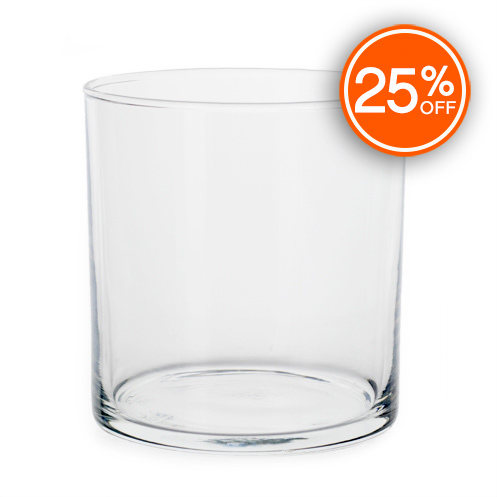 Straight Sided Tumbler Jar (Import)