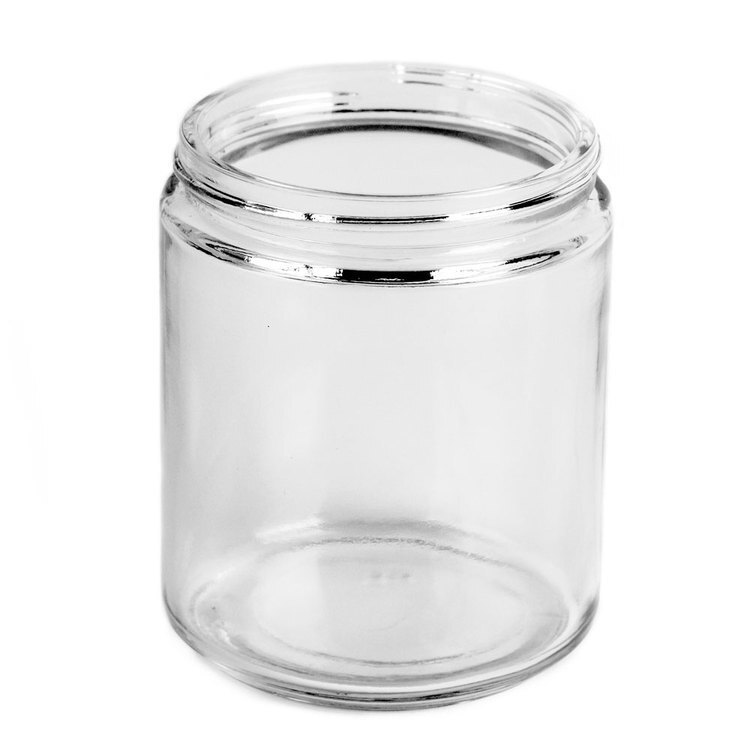 Inside view of Threads on the medium straight sided jar