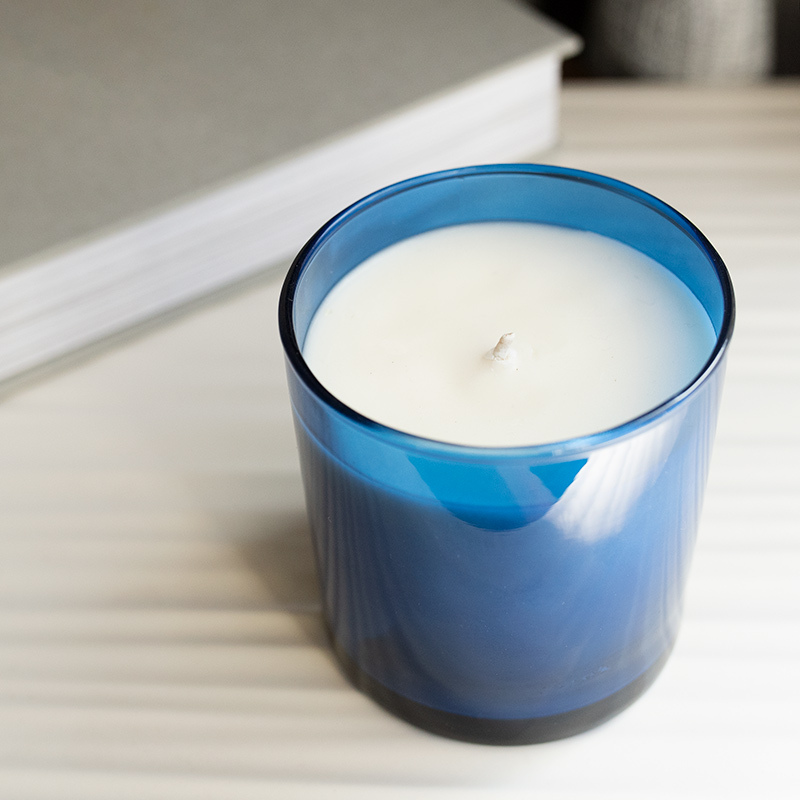 Sapphire Blue Tumbler Jar