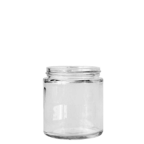 Small Straight Sided Jar (Threaded)