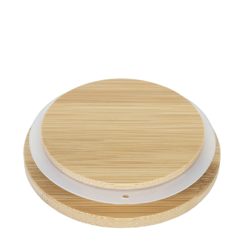Bamboo lid with gasket