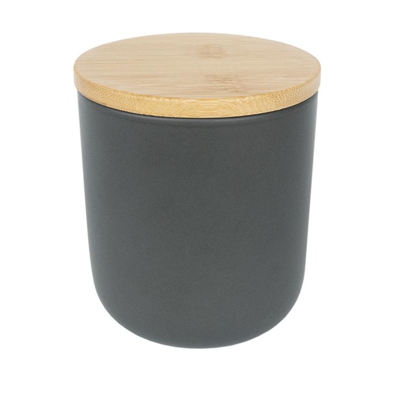 Bamboo lid with Nordic Ceramic Tumbler