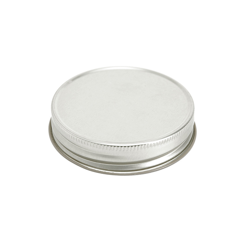 70 silver threaded lid web