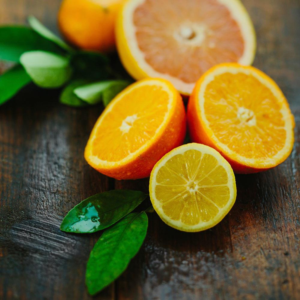 Citron and mandarin 1000px
