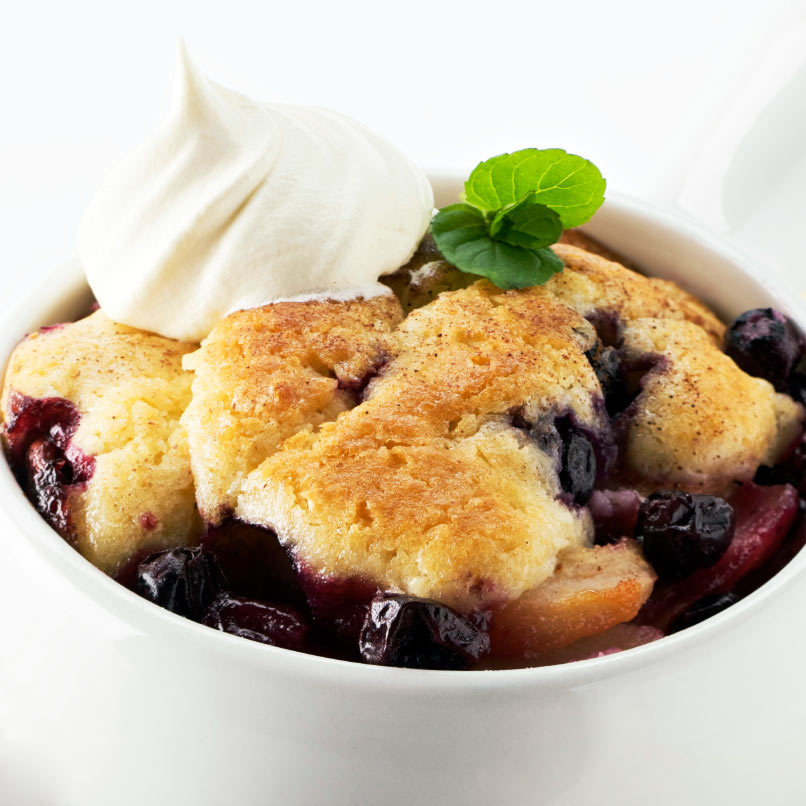 Blueberry cobbler 806