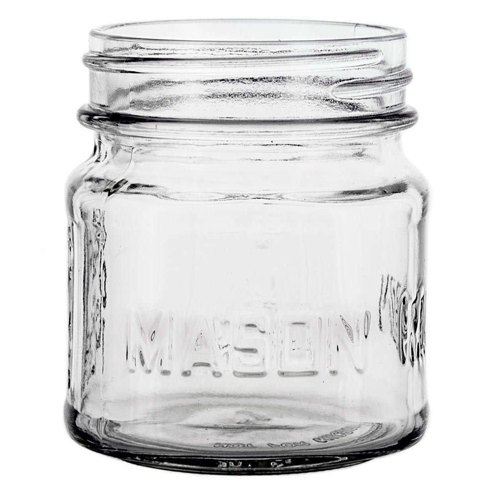 8 oz. glass mason jar