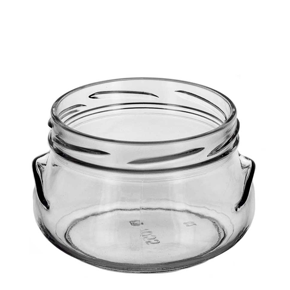 Glass 8 oz. Tureen Jar