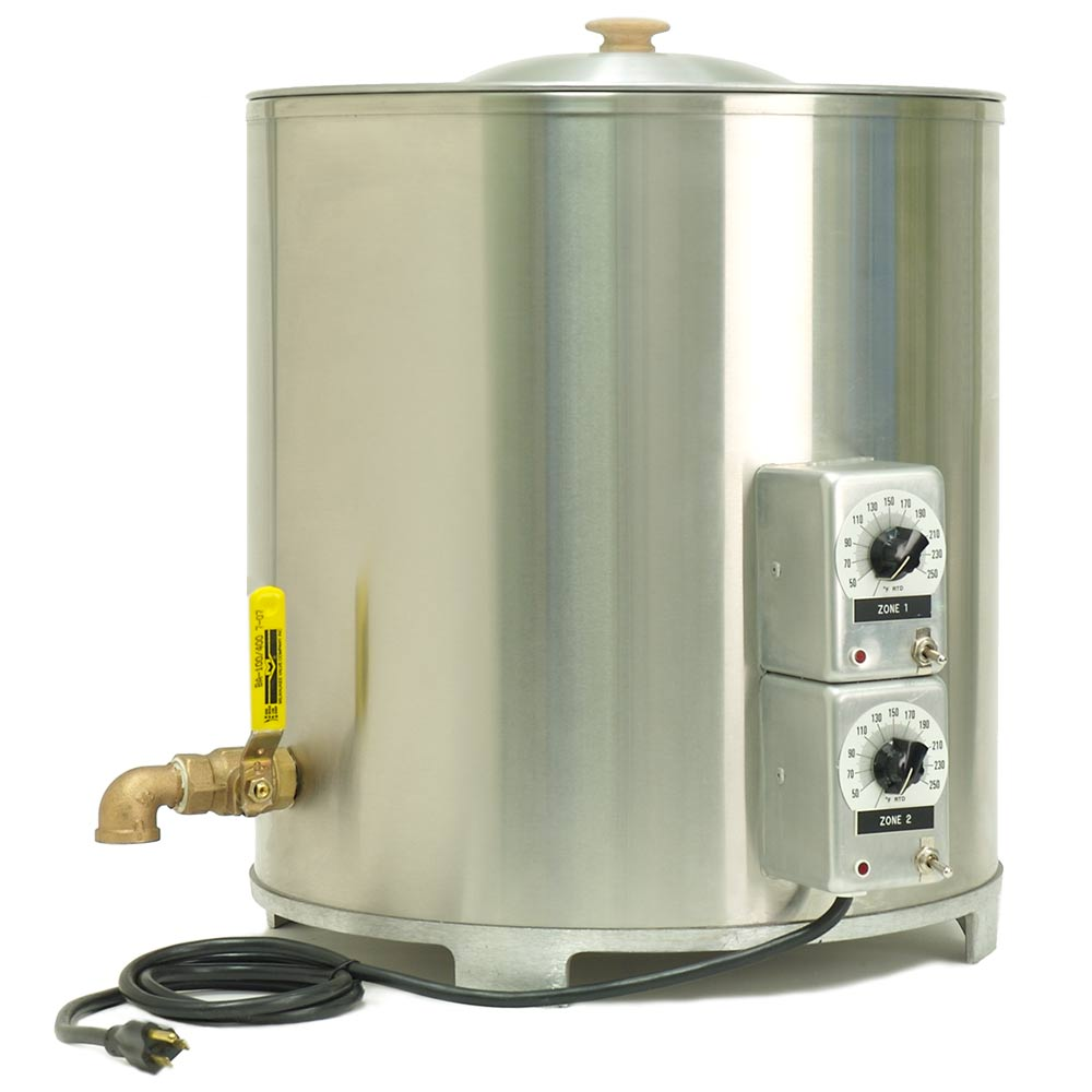 Stainless Steel Wax Melter 65 Lb Candlescience