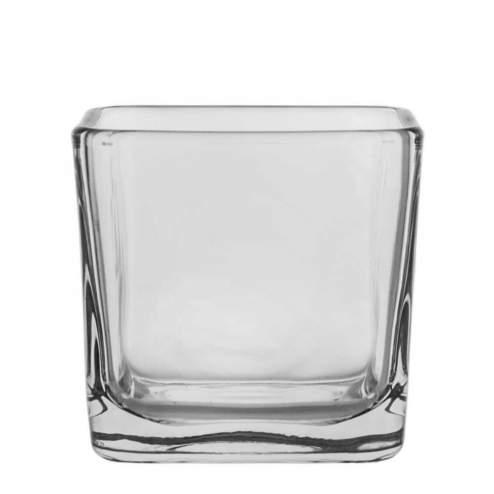 12 oz. Glass Cube Jar
